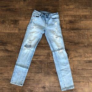 Men's American Eagle Distressed Skinny Jeans